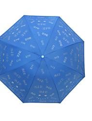 Folding Umbrella Lady