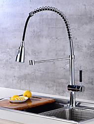 CentersetCeramic ValveChrome , Kitchen faucet