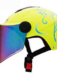 LS2  Of108  Motorcycle Helmet Summer Helmet Four And A Half Years Sunscreen Helmets With Color Lenses