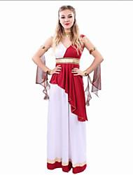 Costumes de Cosplay Costume de Soirée Déesse Cosyumes Romains Cosplay Fête / Célébration Déguisement d'Halloween Autres RétroRobes Manche
