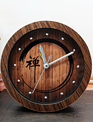 Tradicional Religioso e Inspirador Relógio de parede,Redonda Inovador Interior Relógio