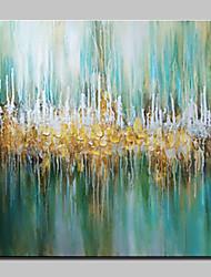 Pintada a mano Abstracto Abstracto Modern Un Panel Lienzos Pintura al óleo pintada a colgar For Decoración hogareña