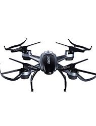 Drone LISHITOYS L6056 4CH 6 Eixos Com Câmera HD de 2.0MP Iluminação De LED Seguindo ModoQuadcóptero RC Controle Remoto Cabo USB 1 Bateria