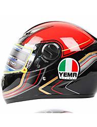 YEMA 802  Motorcycle Helmet Men's Motorcycle Helmet-Mounted Racing Caravan Helmet Women's Winter Collar