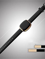 Women's Men's Fashion Watch Digital Leather Band Black Silver Grey