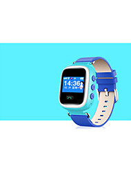 Kid's Smart Watch Fashion Watch Digital Water Resistant / Water Proof PU Band Blue Pink Yellow