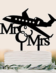 Décorations de Gâteaux Haute qualité Mariage Anniversaire Mariage Anniversaire Sac PVC