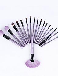 1set Makeup Brush Set Horse Professional Full Coverage Wood Face