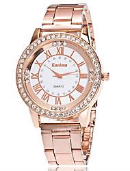 Mujer Reloj de Vestir Reloj de Moda Reloj de Pulsera Reloj creativo único Reloj Casual Simulado Diamante Reloj Chino Cuarzo La imitación