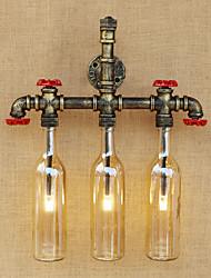 AC 100-240 9 G4 LED Rétro Rustique Bronze antique Fonctionnalité for LED Ampoule incluse,Eclairage d'ambiance Applique murale