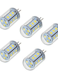 5W Luces LED de Doble Pin T 18 SMD 2835 450-550 lm Blanco Cálido Blanco Fresco V 5 piezas