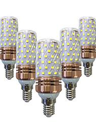 15W LED a pannocchia T 78 SMD 2835 700-800 lm Bianco caldo Bianco V 5 pezzi