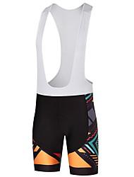 Shorts Bib de Ciclismo Hombre Bicicleta Petos de deporte/Culotte con tirantes Dispersor de humedad Ventilación Secado rápidoPoliéster