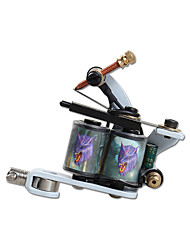 Beginner 10 Wraps Coil Tattoo Machine Alloy Liner and Shader Tattoo Supplies