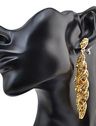 Drop Earrings Women's Vintage Style Upscale Crystal Rhinestone  Earrings For Women Charm Movie Jewelry