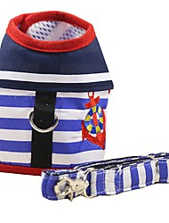 Harness Leash Portable Breathable Foldable Adjustable Safety Stripe Fabric Nylon