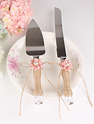The New Pattern Pearl Floret Cake Servers Set