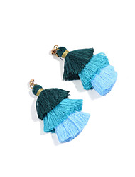 Women's Ball Earrings Tassel Personalized Euramerican Fashion Poly/Cotton Copper Ball Jewelry ForEvent/Party Casual Outdoor clothing