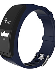 HHY New P5 Bluetooth Movement Smart Bracelet GPS Sleep Heart Rate Monitoring Altitude Temperature Measurement IP67 Class Waterproof Android IOS