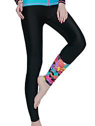 Ladies Adult Yoga Bodybuilding Snorkel Swim Pants Glove Set Sun Protection Snack Suit Diving Suit