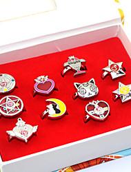 Mais Acessórios Inspirado por Sailor Moon Sailor Moon Anime Acessórios para Cosplay Anéis