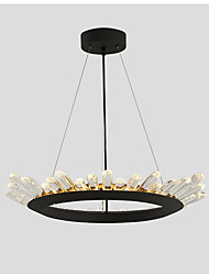 Modern contracted sitting room lamp droplight circular office of creative personality dining-room lamp art lamp led lamps and lanterns of translation