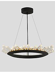 Moderne contractée salon lampe droplight bureau circulaire de la personnalité créative salle à manger lampe lampe d'art lampe à LED et