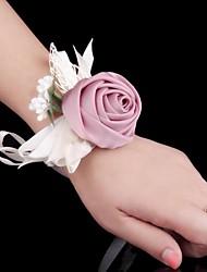 """Fleurs de mariage Petit bouquet de fleurs au poignet Cérémonie de mariage Occasion spéciale Métal 2.36""""(Env.6cm)"""
