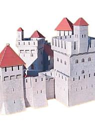Jigsaw Puzzles DIY KIT 3D Puzzles Building Blocks DIY Toys Castle Famous buildings House