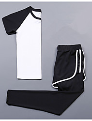 Women's Short Sleeve Running Compression ClothingFitness, Running & Yoga Moisture Wicking Calories Burned Help to lose weight Quik Dry