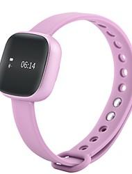 Women's Men's Smart Watch Digital Silicone Band Black Pink