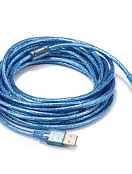 USB 2.0 Kabel, USB 2.0 to Micro-USB Typ B Kabel Male - Male 5.0m (16ft)