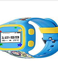 Kid's Smart Watch Digital Rubber Band Blue Red Pink