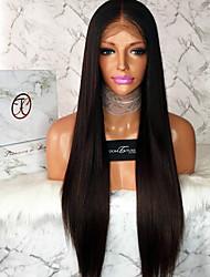 Perruques avant en dentelle de grade 8a cheveux humains directement pour femme noire Perruque en dentelle sans gluten en laine vierge