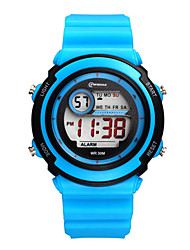 Kid's Sport Watch Digital Water Resistant / Water Proof Rubber Band Black Blue Navy
