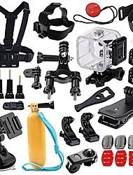 Caixa Protetora Impermeável Capinha Acessório Kit Exterior Multi funções Tudo-Em-1 ParaAll Action Camera Xiaomi Camera Gopro 4 Black