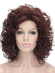 Short Super Curly Blonde Full Synthetic Wig Full Wigs