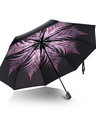 Folding Umbrella Lady