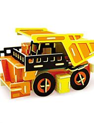Puzzles Kit de Bricolage Puzzles 3D Blocs de Construction Jouets DIY  Camion Bois