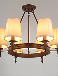 3w pendente luz característica de pintura tradicional / clássica para estilo mini madeira / sala de bambu / quarto / sala de jantar /