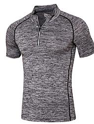 Men's Running Sweatshirt Moisture Wicking Summer Sports Wear Running/Jogging