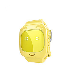 Kid's Smart Watch Fashion Watch Digital Water Resistant / Water Proof Rubber Band Blue Pink Yellow