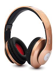 Bt-kdk57 fones de ouvido bluetooth sem fio dobráveis ajustáveis suportam o fone de ouvido do cartão tf com fone de ouvido estéreo