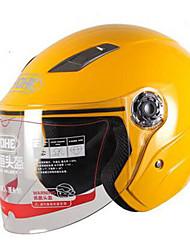 Medio Casco Moldeado al Cuerpo Compacto Respirante Media concha Mejor calidad Deportes ABS Los cascos de motocicleta