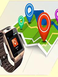 Women's Men's Smart Watch Digital Rubber Band Black White