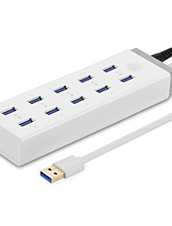 UGREEN  20297  HUB   USB3.0  Super Speed   5.0 Gbps   10 Ports  1.5mCable with Power Supply