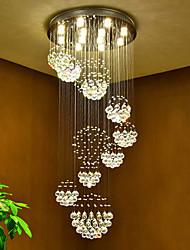 Led pendentif en cristal plafonnier lampes modernes chandeliers accueil suspendu led éclairage lampe lampes luminaires