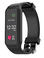 L38i Pulsera Smart iOS AndroidIP67 Resistente al Agua Calorías Quemadas Podómetros Deportes Monitor de Pulso Cardiaco Pantalla táctil