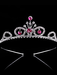 2017 New Fashion Children's Hair Hoop Bridal Crown Kid Jewelry Diamond of the Girls Tiaras Wedding Gifts Bride Headwear Women