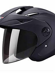 Medio Casco Moldeado al Cuerpo Compacto Respirante Mejor calidad Deportes ABS Los cascos de motocicleta